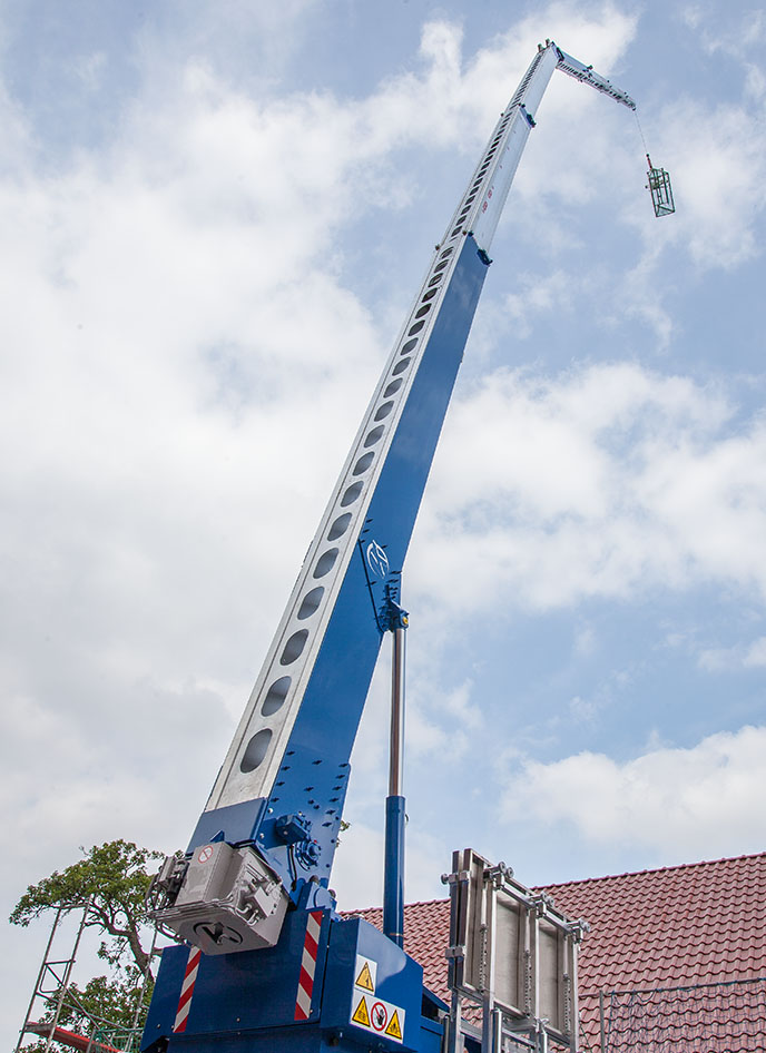 Der K36-46 TF meistert spielend große Höhen